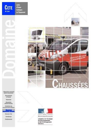CHAUSSÉES - CETE de Lyon