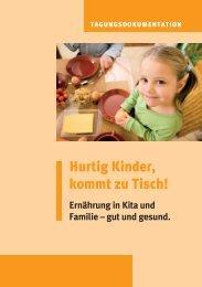 Hurtig Kinder, kommt zu Tisch! - Netzwerk Gesunde Kita
