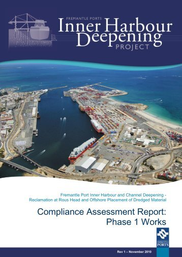 Compliance Assessment Report: Phase 1 Works - Fremantle Ports