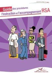 l'instruction et l'accompagnement RSA - CG49 - Insertion - Conseil ...