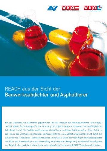 Asphaltierer und Bauwerksabdichter - REACH Hamburg