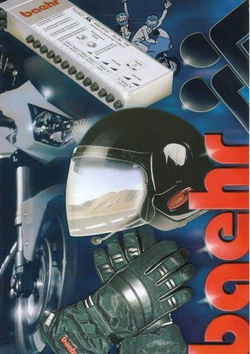 Baehr Catalogus - Motor Houtrust