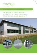 high quality business & industrial / warehouse units at hertford's ... - Page 5