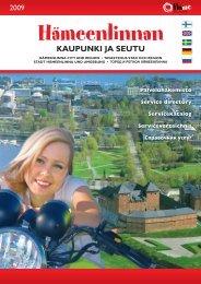 KAUPUNKI JA SEUTU - Kehittämiskeskus Oy Häme