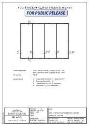 SGG SYSTEMS CLIP-IN SILENCE 8655/45 intern gebruik - SGG-IGS