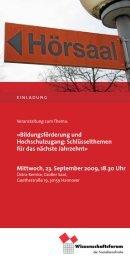 Einladung zum Wissenschaftsforum als pdf - Jusos ...