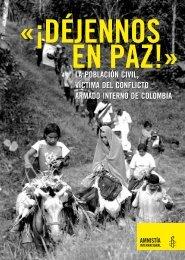 la población civil, víctima del conflicto armado interno de colombia ...