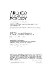 Archeologické rozhledy 2002 - Archeologický ústav AV ČR