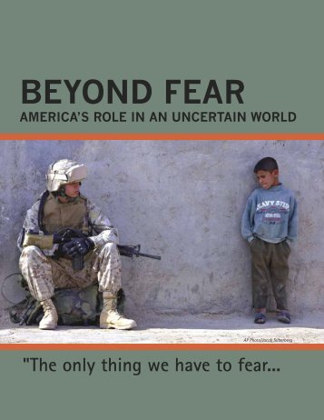 BEYOND FEAR - The Stanley Foundation