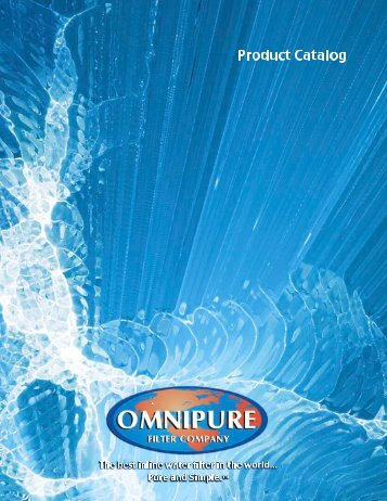 Omnipure catalogue - The Water Shop