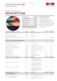 le cursus en bref - Master | EPFL