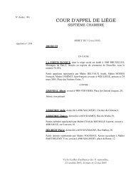 l'arrêt du 12 mai 2005 - Juridat