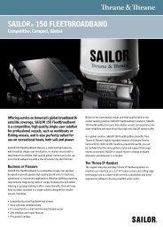 SAILOR® 150 FLEETBROADBAND - 2connect-IT
