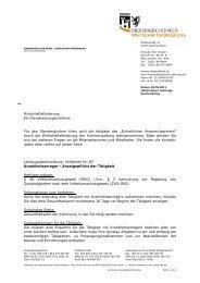 Anzeigepflicht der Tätigkeit § 53a Abs. 1 Infektionsschutzgesetz