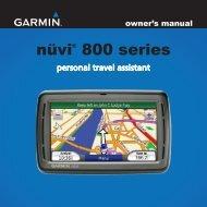 Garmin Nuvi 880 Manual - Logo