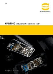 Download Harting 'HAN' Connectors Overview PDF - Northern ...