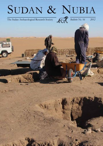 The Sudan Archaeological Research Society Bulletin No. 16 2012