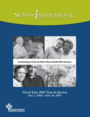 Senior Independence Year In Review - Ohio Presbyterian ...