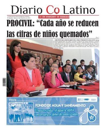 Edición 23 de Diciembre de 2014