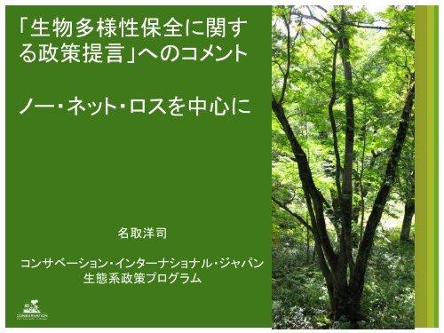 Download (.pdf、1MB) - 国際環境NGO FoE Japan