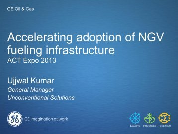 """Natural Gas Refueling - """"ACT"""" Expo"""