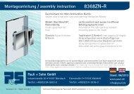 Montageanleitung Nivello+ - 8368ZN-R (PDF 3.8 MB) - Pauli