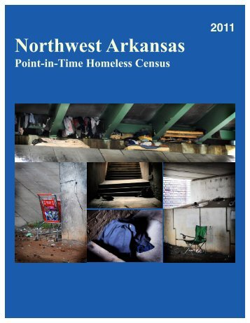 Northwest Arkansas Point-in-Time Homeless Census 2011 Report