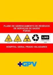 Plano de Gerenciamento de Resíduos de Serviços de Saúde - Sesab