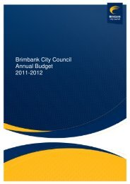 Brimbank City Council Annual Budget 2011-2012