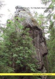 Suomi - Geological Survey of Finland - Geologian tutkimuskeskus