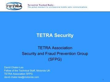 TETRA Security