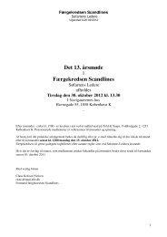 Det 13. årsmøde Færgekredsen Scandlines - Søfartens Ledere
