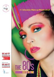 17. Schweizer Make-up-Meisterschaft - Beauty Forum