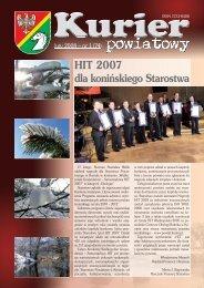 Kurier Powiatowy nr 1(74) (4.19 MB) - Powiat koniński
