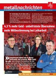 metallnachrichten - IG Metall