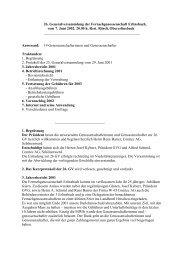 Protokoll der 26. GV vom 7.6.2002 - Fernseh Genossenschaft ...