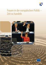 Frauen in der europäischen Politik – Zeit zu handeln - Land Tirol