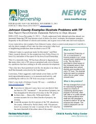 2-pg PDF - Iowa Fiscal Partnership