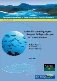 Epibenthic scattering project - OzCoasts