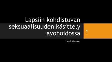 Jussi+Nissinen+Seksuaalirikoksen+tekijän+auttamisesta