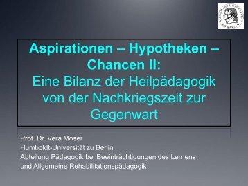 Download Präsentation - Teil II - 150 Jahre Heilpädagogik