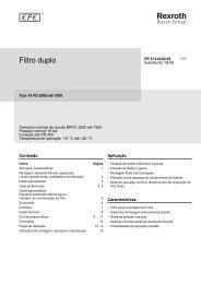 Filtro duplo - Bosch Rexroth