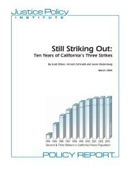 Still Striking Out - Prison Policy Initiative