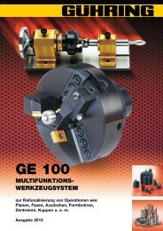 GE 100 - Gühring oHG