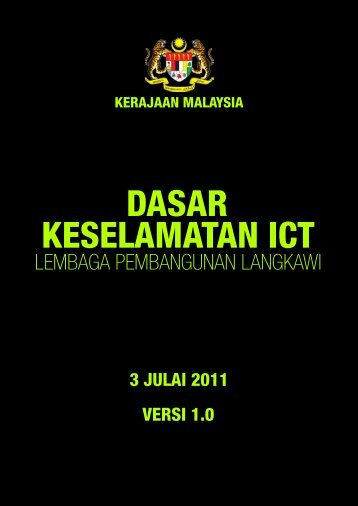 Muat Turun Dasar Keselamatan ICT LADA - Lembaga ...