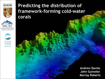 Predicting the distribution of framework-forming cold-water corals