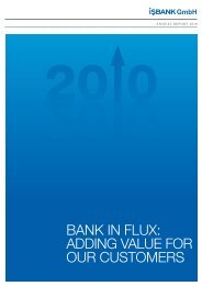2010 annual report(PDF, 2.9 MB) - isbank.de