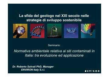 21/04/11 - Ordine dei Geologi del Lazio