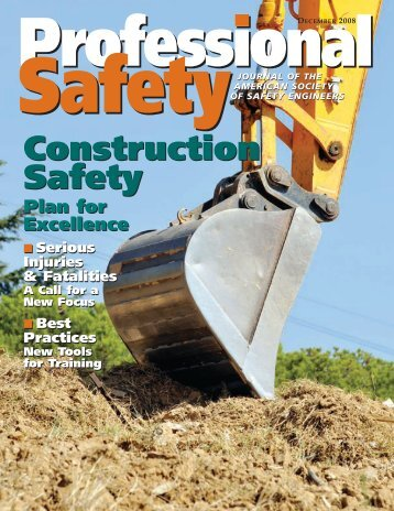 safety - ASSE Members - American Society of Safety Engineers