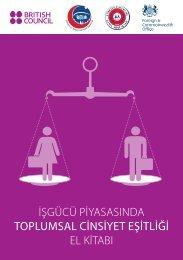 Toplumsal Cinsiyet Eşitliği:El kitabı - Türkiye İş Kurumu